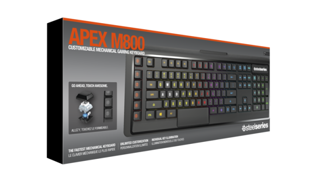 SteelSeries Apex Mech M800