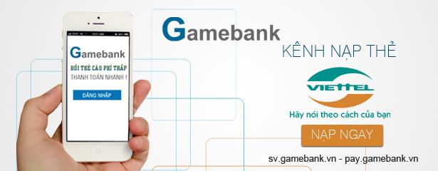 www.123nhanh.com: Nạp đổi thẻ Viettel sang vnđ tỷ lệ tốt tại Gamebank