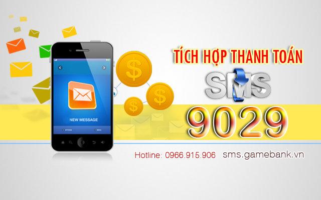 Tich hop SMS website xem phim nghe nhac