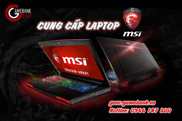 Tổng hợp laptop MSI gaming chính hãng giá tốt tại Gamebank Gear